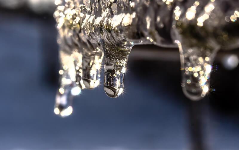 Befagyott vízcsövek